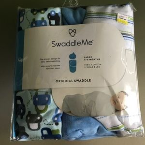 BNWT set of 3 Swaddle Me Swaddles